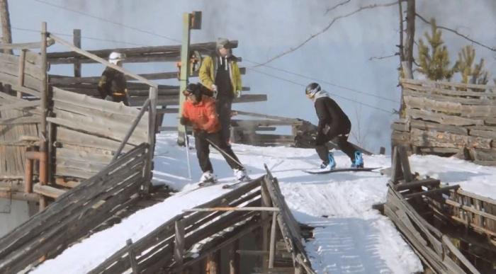 «Флюс» построили фанаты горнолыжного спорта