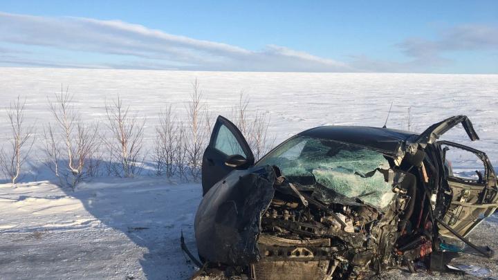 В аварии на трассе в Челябинской области погибли три человека