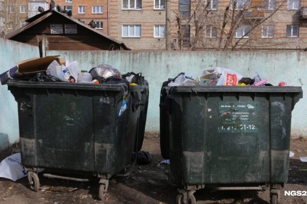 С нового года красноярцам придется платить за вывоз мусора по новым правилам