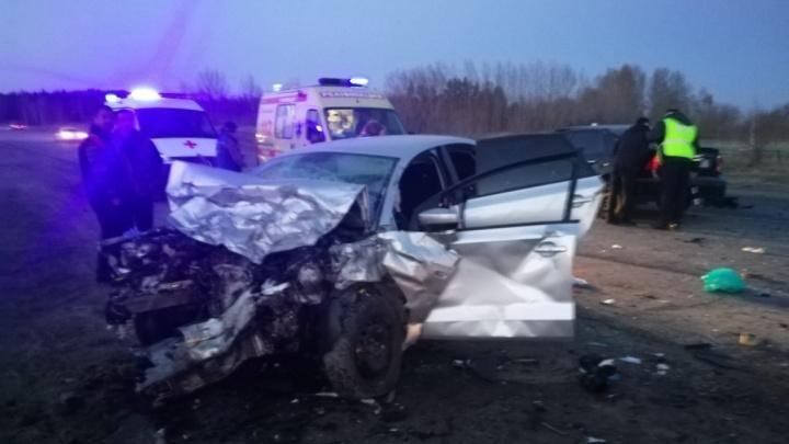 За руль без прав: спасатели сняли на видео последствия ДТП в Туймазинском районе Башкирии