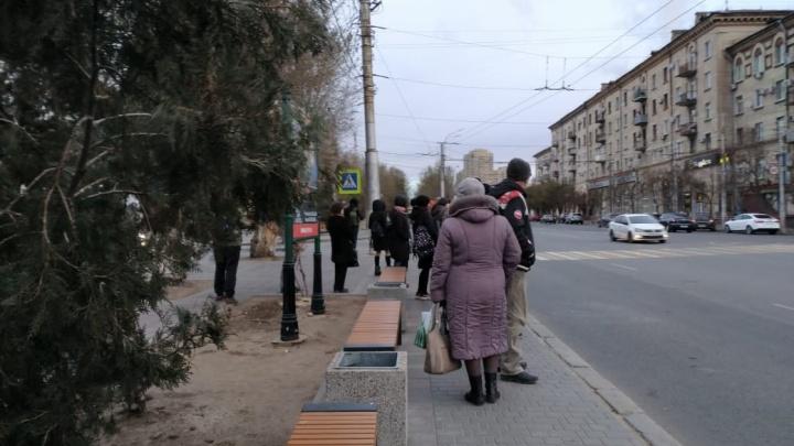 «Придут холода — околеем!»: чиновники оставили центр Волгограда без остановок после мундиаля