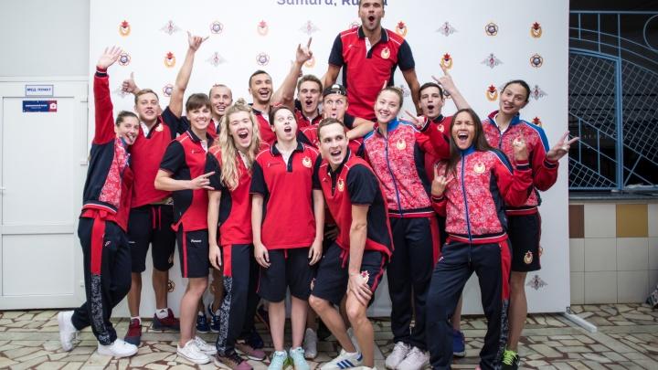 В Самаре российские армейцы обошли иностранцев по количеству медалей чемпионата мира по плаванию