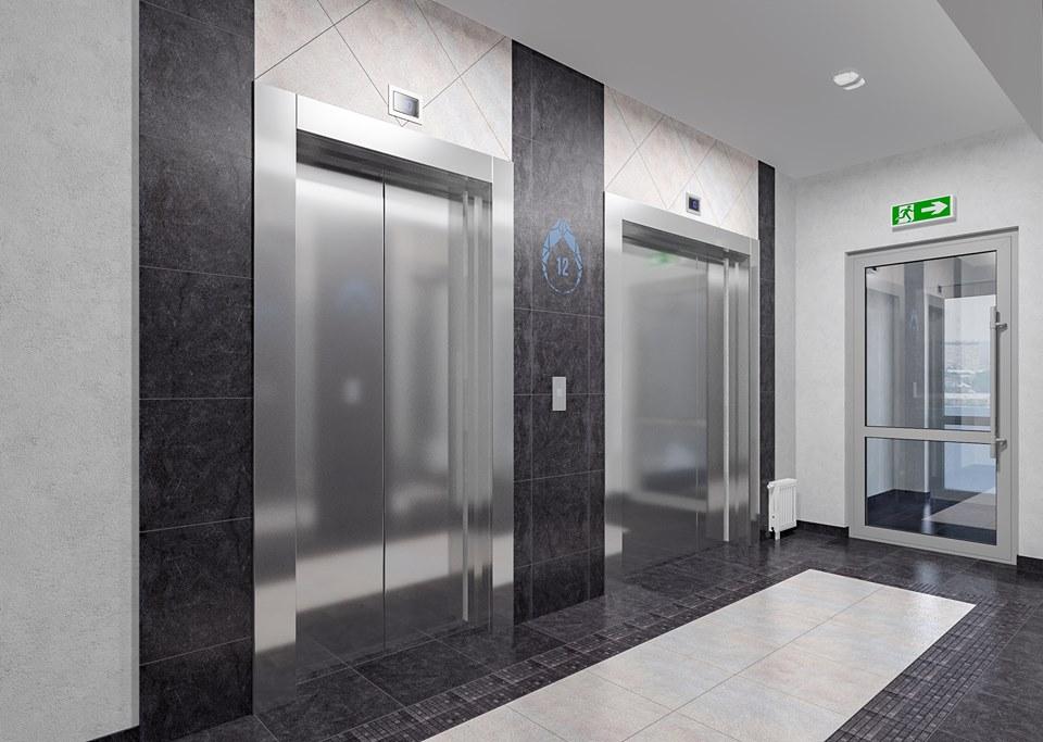 В домах «Новой Ботаники» устанавливаются лифты BLT