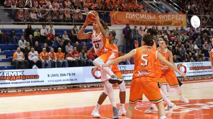 Баскетболистки УГМК лишили итальянок первого места в группе Евролиги