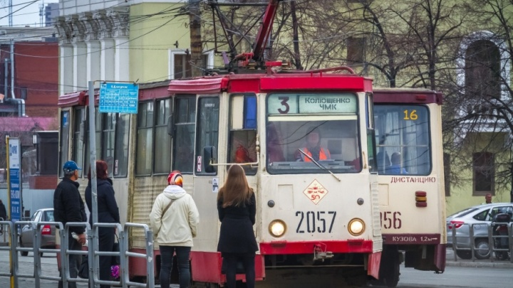 В Челябинске трамвай № 3 изменил схему движения