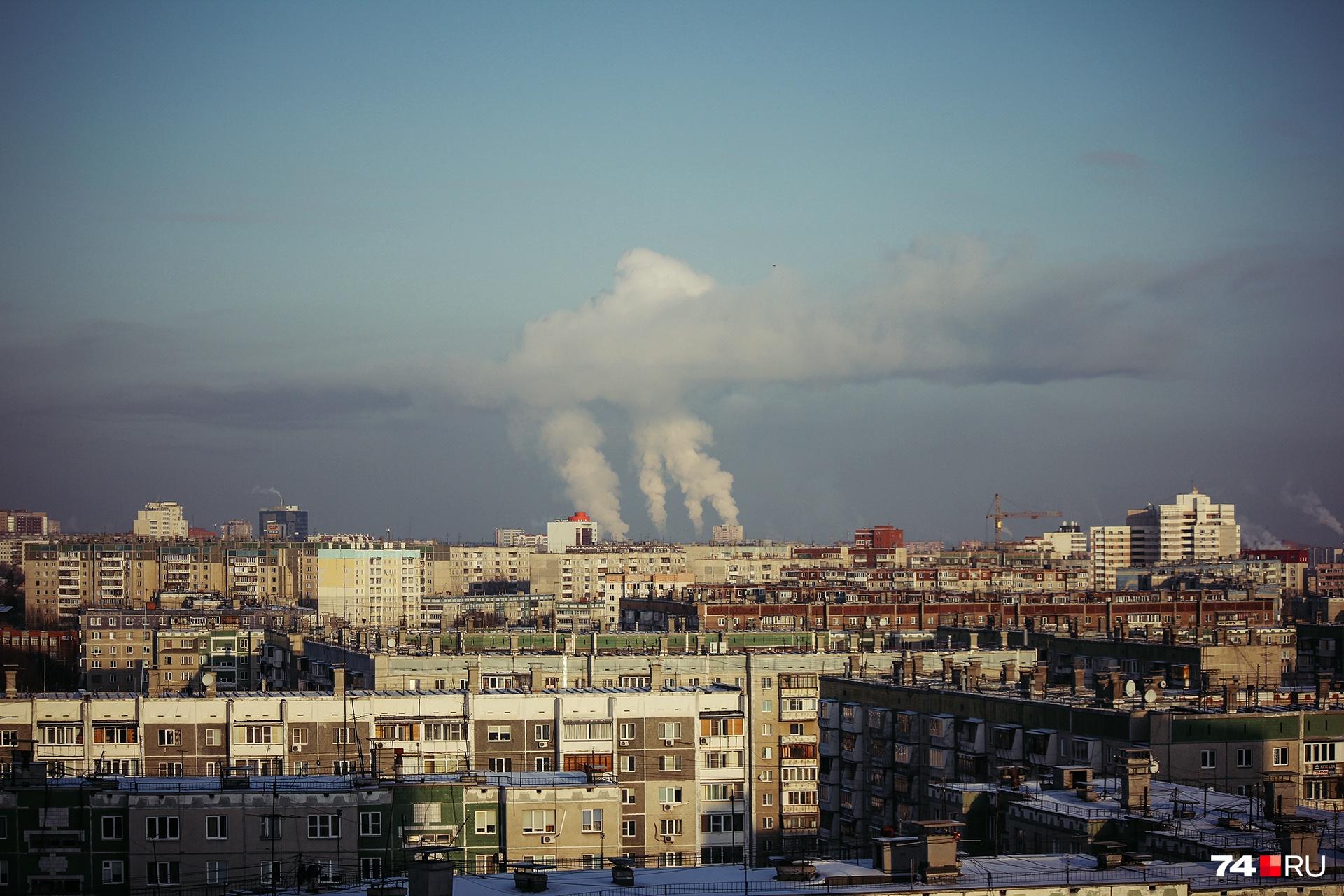 Суровый Челябинск и сосед его Магнитогорск будут загрязнять воздух строго по графику