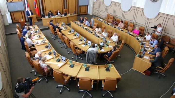Красноярские депутаты просят платить им деньги за заседания