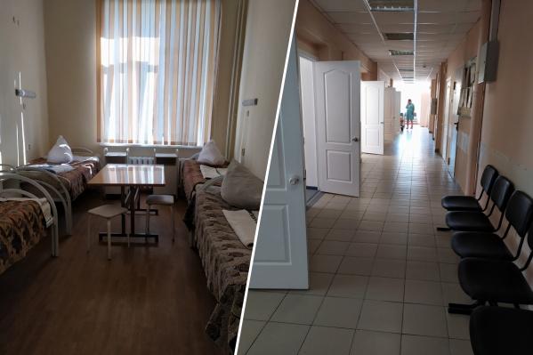 Обновленные палаты и коридор