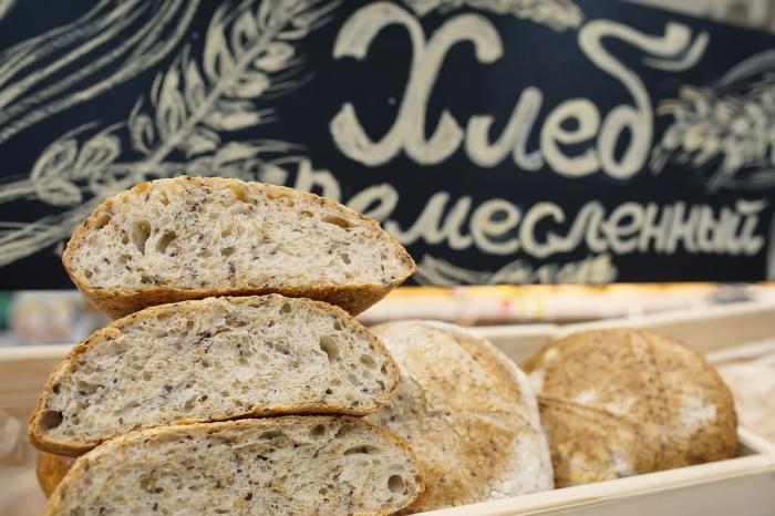 Ремесленный хлеб — полностью натуральный и на живой закваске