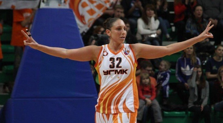 Баскетболистки УГМК проиграли первую игру после ухода из команды Дайаны Таурази
