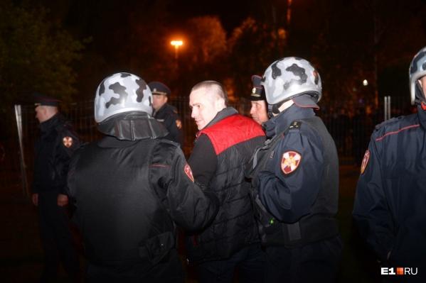 Арестованным назначили от 2 до 10 суток