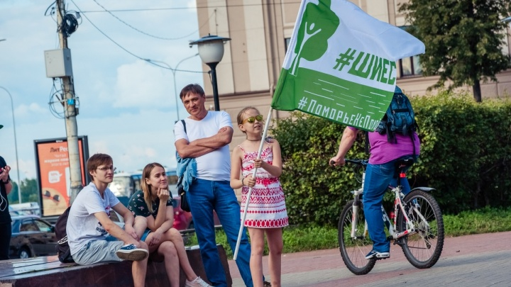 «В единстве наша сила»: нижегородцы вышли на митинг солидарности с защитниками Шиеса