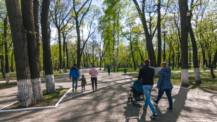 В парке Гагаринаначнут работать два модульных туалета