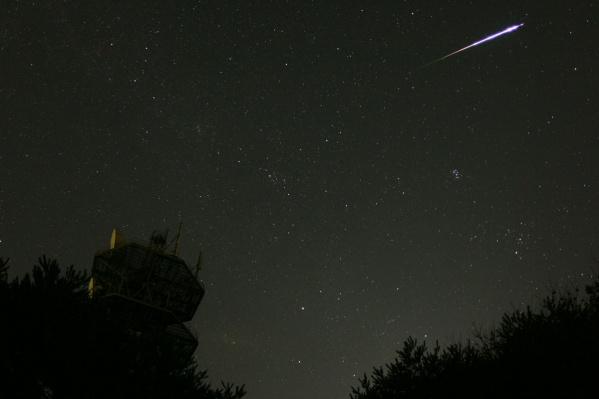 Предстоящей ночью ростовчане смогут полюбоваться падающими звездами