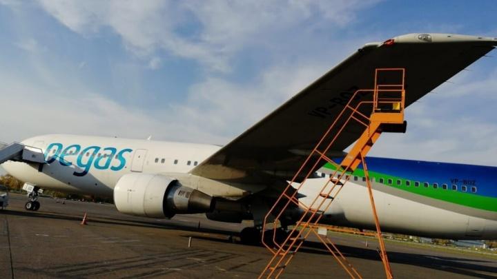 В аэропорту Жуковский самолёт компании «Икар» врезался в борт «Уральских авиалиний»