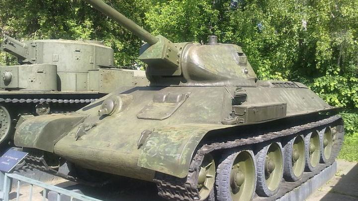 Таганрогский музей купит макеты танка Т-34 и немецкой пушки за семь миллионов рублей