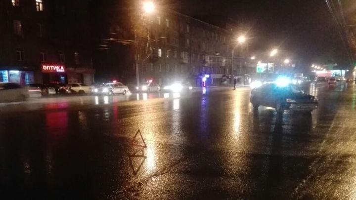 Водитель «Субару» сбил пешехода и выехал на «встречку»