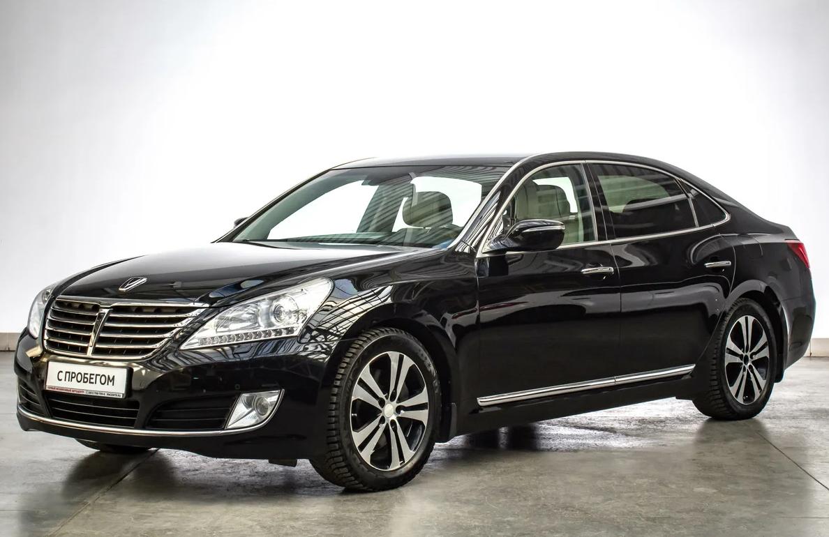 Hyundai Equus выпускался до появления бренда Genesis