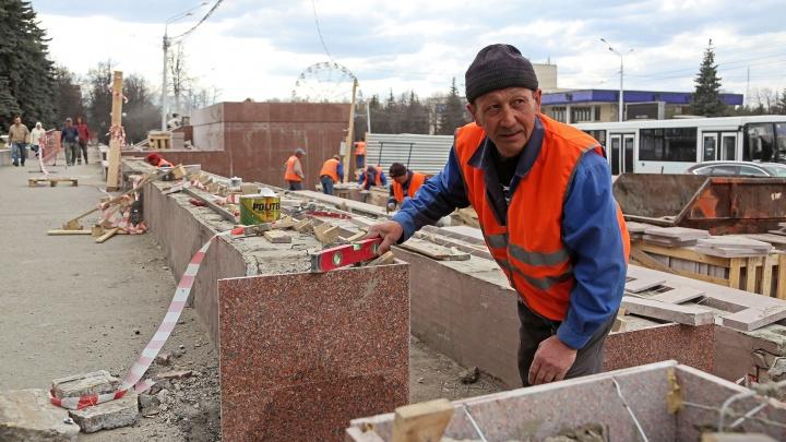 Реконструкция трибуны, обелиска и репетиция парада: как Уфа готовилась ко Дню Победы