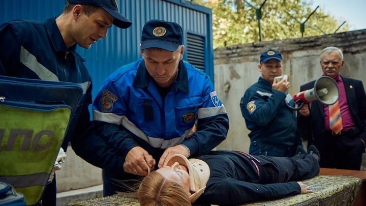 «Ростелеком» и МЧС в Красноярске провели совместные учения по гражданской обороне
