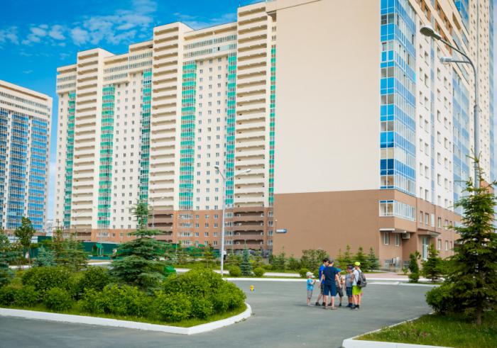 В этом году в жилом комплексе «Миллениум» будут сдаваться новые секции
