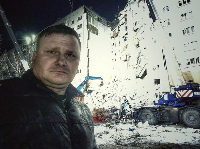 """Фото в соцсети Дмитрий Федечкин сопроводил подписью """"Страшно всё это, страшно"""""""