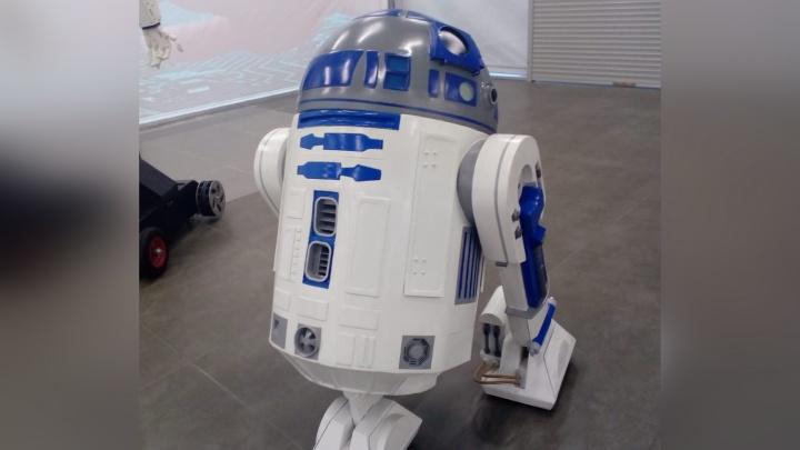 В Ярославль привезли робота из «Звёздных войн»
