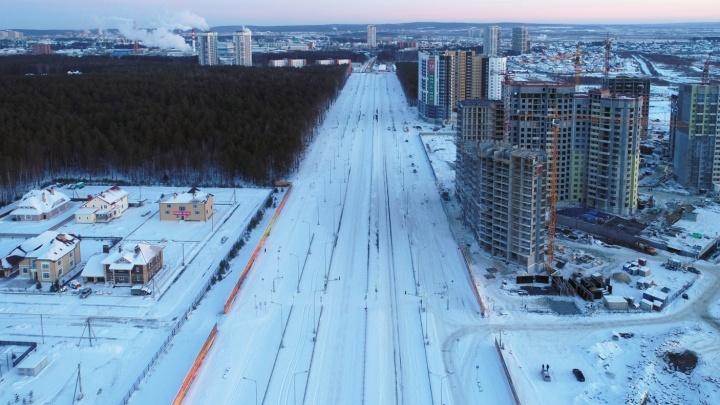 За два года Академический «выведут» на ЕКАД и достроят проспект Сахарова
