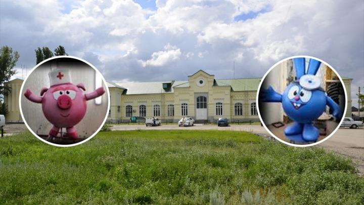 В Новоаннинском установят Нюшу и Кроша за 320 тысяч рублей