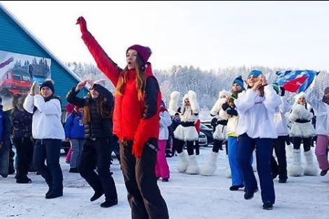 Праздник стартовал в 6 утра в Новокузнецке