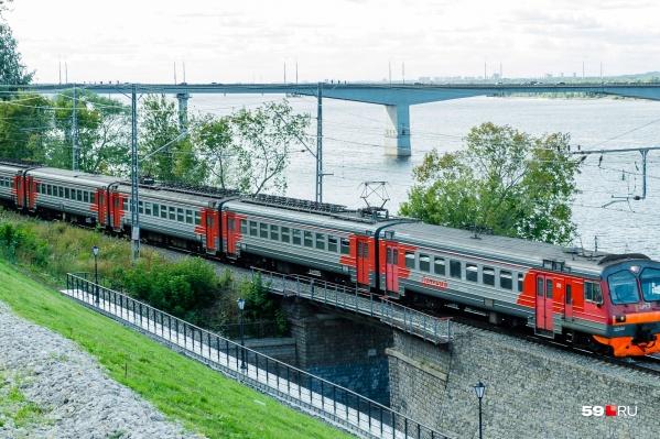 Электропоезд пойдет по обычному маршруту со всеми привычными остановками