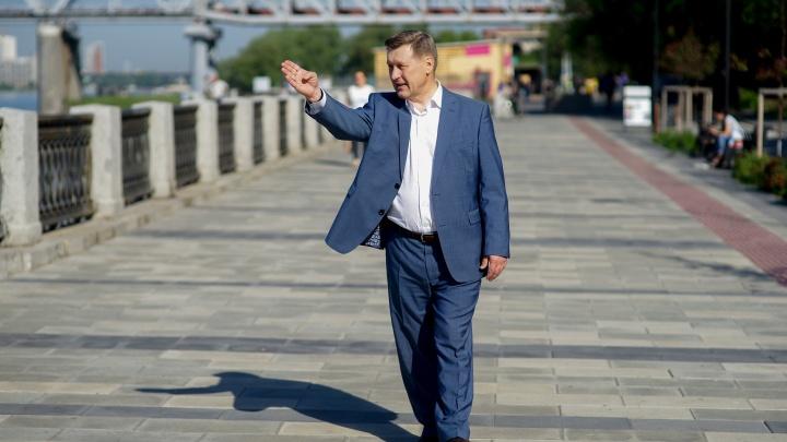 «Следующая задача — достройка Дзержинской линии»: Локоть о метро, парках и общественном транспорте