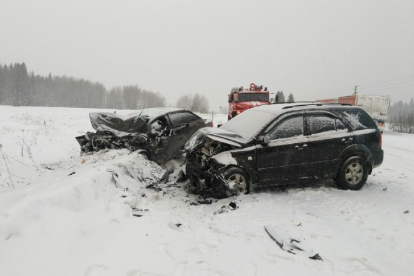Страшная авария случилась из-за неудачного обгона