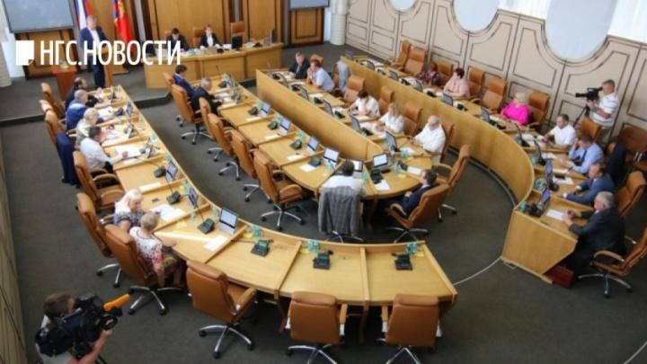 Первый пошел. Избранные депутаты вдруг расхотели заседать в горсовете Красноярска