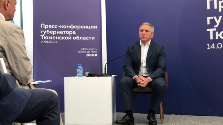 Скандал в Медгороде, банкротство АНПЗ и развязка в Комарово. О чем говорил губернатор с журналистами