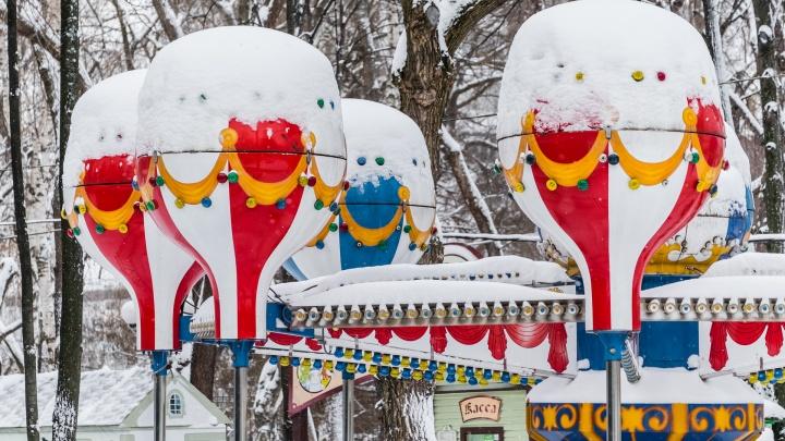 В Пермском крае ожидается тёплый и снежный февраль