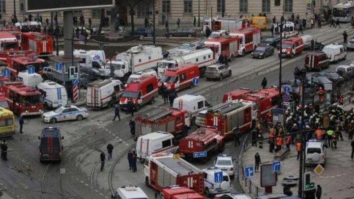 МЧС опубликовало списки людей, госпитализированных при взрыве в Петербурге