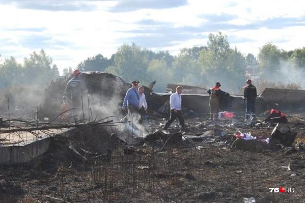 Новость о крушении самолета шокировала тысячи ярославцев