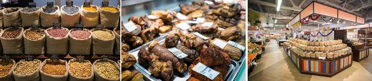 Парное мясо, домашние деликатесы и настоящее деревенское молоко можно найти в «Крестьянской слободе»