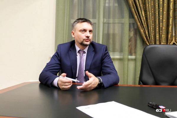 Станислав Казарин возглавлял департамент с1 января 2011 года