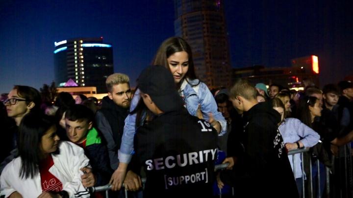 Концерт Хаски и ЛСП в Екатеринбурге отменили из-за давки