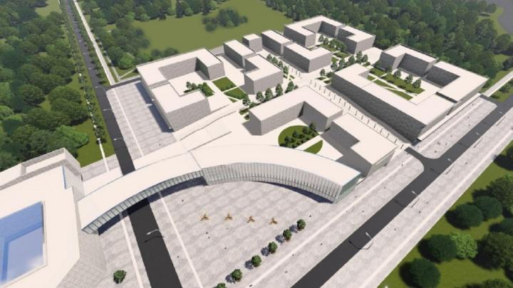 На градостроительном совете в Перми показали проект международного образовательного кампуса