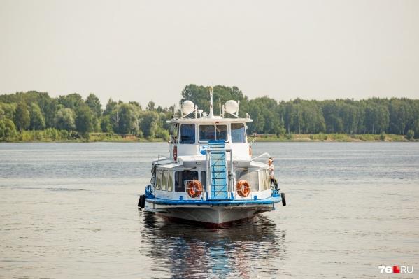 Речные трамвайчики в Ярославле начнут ходить уже в этом месяце