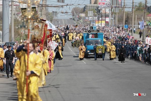 В этом году проведение крестного хода выпадает на 26 мая — ближайшее ко дню памяти святых Кирилла и Мефодия воскресенье