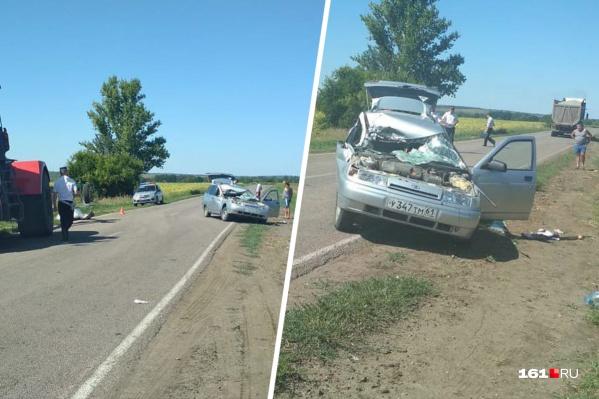 Предварительный виновник аварии — водитель ВАЗ-2111