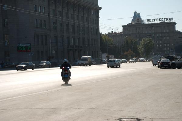 Во время акции инспекторы поймали одного мотоциклиста без документов