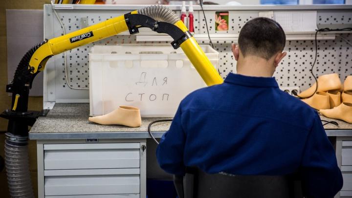 Фоторепортаж: в Первомайке открыли фабрику титановых костей