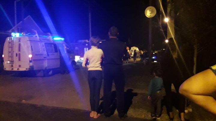 Очевидцы: под Тольятти мужчина погиб в результате взрыва газовых баллонов