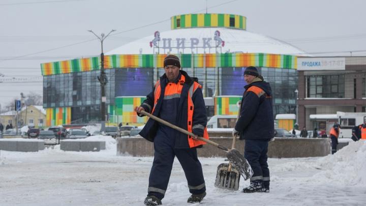 Как откопать город: омичи vs снег