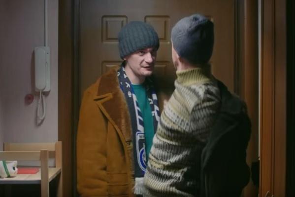 Александра Гудкова заметили с шарфом «Шинника» в одной программе